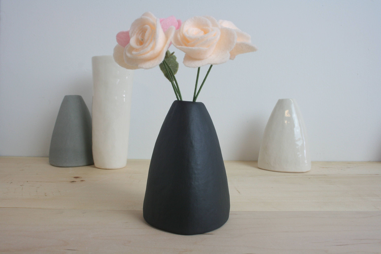 Modern bud vase minimalist vase black bud vase flower vase modern bud vase minimalist vase black bud vase flower vase ceramic vase reviewsmspy