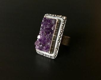 Dark Magic Amethyst Ring