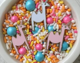 Camelcorn enamel pin, camelcorn pin , camel unicorn pin, unicamel pin, unicorn pin, hard enamel pin, lapel pin badge, pin, HibouDesigns