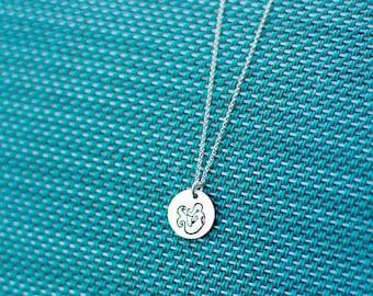 Mermaid Necklace - Sterling Silver Mermaid Necklace - Make Waves - Be a Mermaid - Mermaid Jewelry - Necklace Card - Mermaid Lover