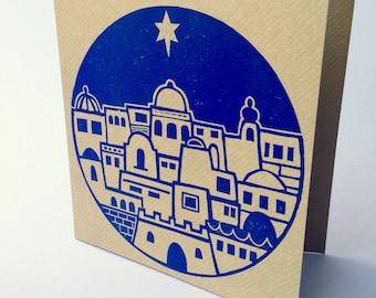 5 Bethlehem Christmas Cards