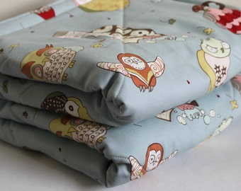 Triple Padded Scowls Playmat. Super Size Baby Floor Mat. Ready To Ship