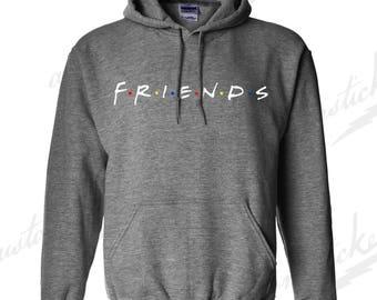 Friends 90s TV shows - Men's/Unisex Hooded Sweatshirt