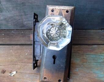 Glass door knobs Etsy