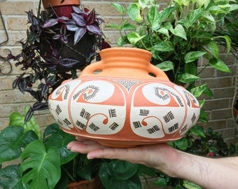 Traditional Pottery Pot made in Venezuela by Cooperative Quibor Lara