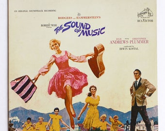 The Sound of Music Vinyl Soundtrack - Julie Andrews Musical - Good Condition