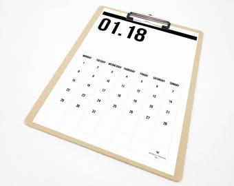 online calendar 2018 printable