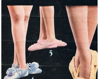 Slippers to Knit and Crochet by Leisure Arts