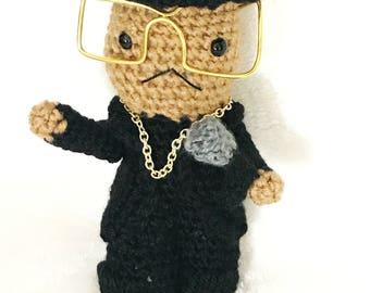 Dana Dane Inspired Crochet Doll