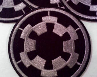 Star Wars Imperial Cog Iron on/Sew On Patch