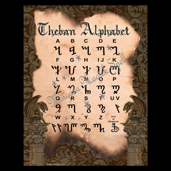 Theban Alphabet