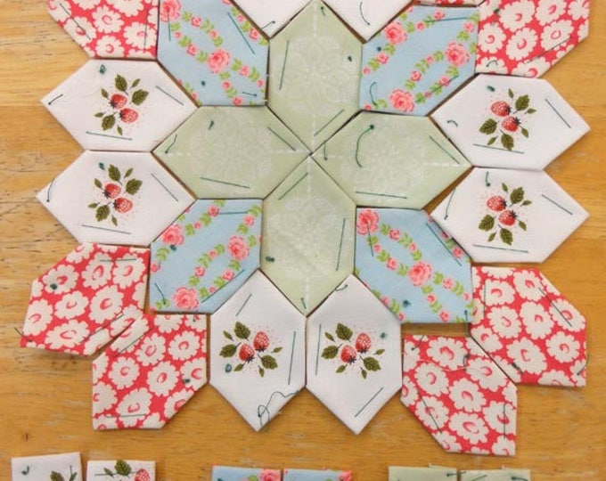 Lucy Boston Patchwork of the Crosses summer cottage block kit #2