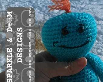 Look At Me Doll, handmade crochet made to order