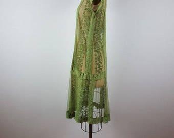 day dreamer | vintage lace deco dress | vtg flapper dress | 20s/1920s | party | small/s