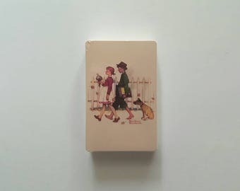 Norman Rockwell Playing Cards, A Scholarly Pace, Deck of Cards, Poker