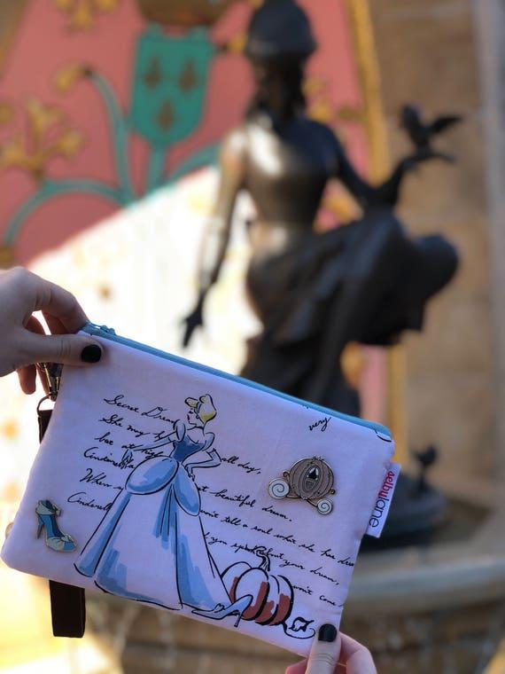 Watercolor Princess Wristlet
