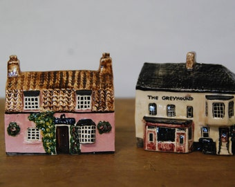 Vintage Wivenhoe Collection Ceramic Houses