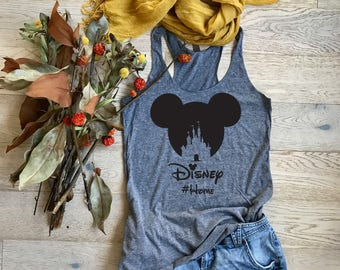 Disney Home. Women's Eco Tri-Blend Tanks. Women Clothing. Disney Tank Top. Disney Gift Triblend Tank. Gift Shirt. Happy Shirt.