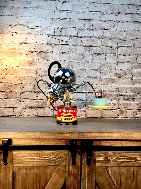 Table Lamp Vintage Percolator