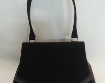 Bruno Magli Black Evening Bag