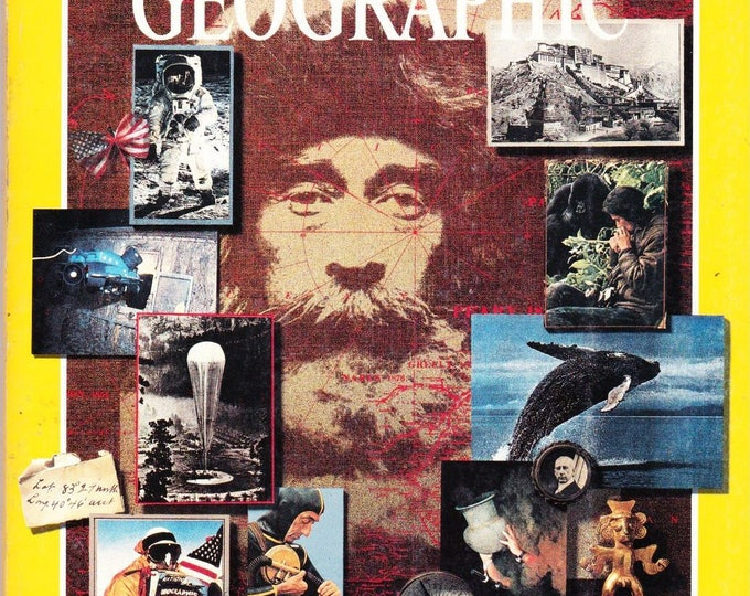 Vintage National Geographic Magazine, Vol 173, No 1, January 1988, One Hundred Years, African Odyssey, 1988-1998, Centennial Edion, Poland