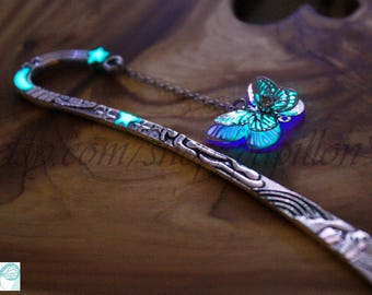 New Butterfly BOOKMARK GLOW in the DARK