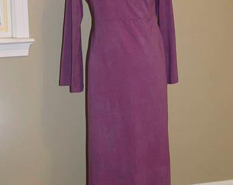 Sample Sale, Long Organic Cotton Dress, Size Large