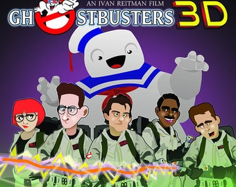 Ghostbusters 3D on Laserdisc