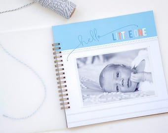 Simple Boy Baby Book. Baby Memory Book. Boy Baby Book. Modern Baby Book. Best of Baby. Gifts for Moms. Baby Shower Gift. Blue Baby Book.