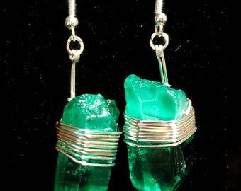 Kryptonite Earrings
