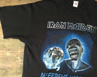 Iron Maiden Different World Tshirt