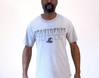90s Providence College Athletic Tshirt, Providence College Tshirt, Providence Tshirt, Rhode Island T-Shirt, Heather Gray Athletic Tshirt, M
