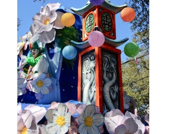 Japanese Carnival Float Photograph