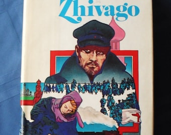 Doctor Zhivago by Boris Pasternak vintage book, 1958 very good condition