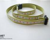 Ceinture motif tribal / craie ceinture sac / fine ceinture