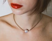 Baroque Pearl Necklace-Ba...