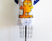 Plus Size - Vintage 'GARFIELD' Tunic Dress (Size 14/16)