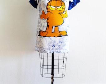 Plus Size - Vintage 'GARFIELD' Tunic Dress (Size 14/16)