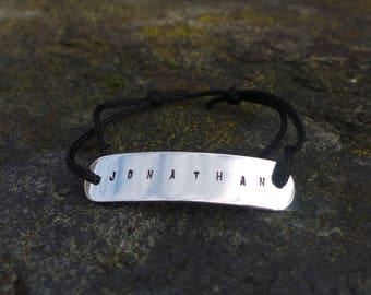 For men in 925 sterling silver link bracelet.