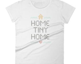Home Tiny Home Womens Shirt