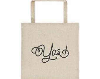 Yas! Ilana Broad City TV Show Pop-Culture Tote bag