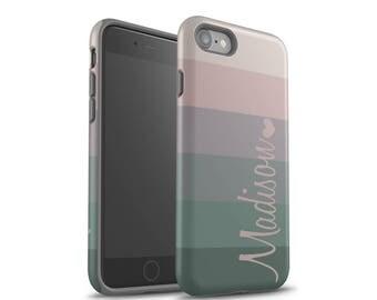 iPhone 7 Case, iPhone 8 Case, iPhone 8 Plus Case, iPhone X Case, Galaxy S8 Case, Monogram, Galaxy S7 Case, Personalized Case