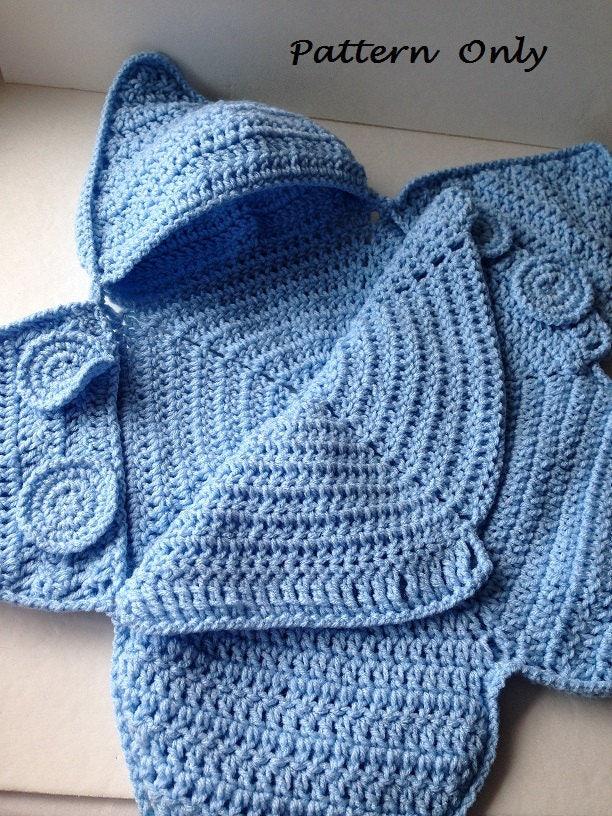 Pattern - Crochet Baby Star Bunting Pattern - Baby Bag ...