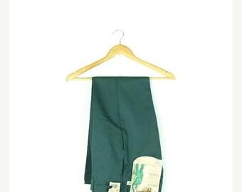 ON SALE Vintage Deadstock Green Work Pants from 1970's/W27*