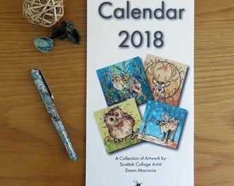 2018 Printed Wall Calendar
