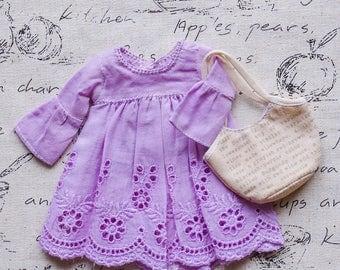 Blythe/Momoko - Bohemien Dress - Short Dress - Purple
