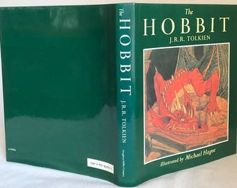 The Hobbit or, There and Back Again, 1984 J.R.R. Tolkien, Illustrated by Michael Hague, Bilbo baggins