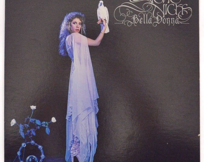 Vintage 80s Stevie Nicks Bella Donna Pop Rock Album Record Vinyl LP