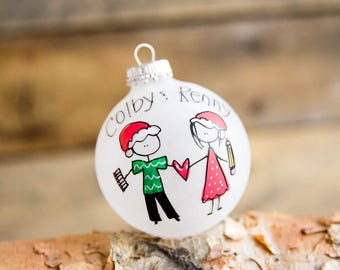Pen Pals - Christmas Ornament - Personalized for Free