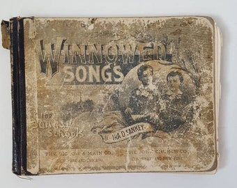 Hymnal 1890 Winnowed Songs for Sunday Schools